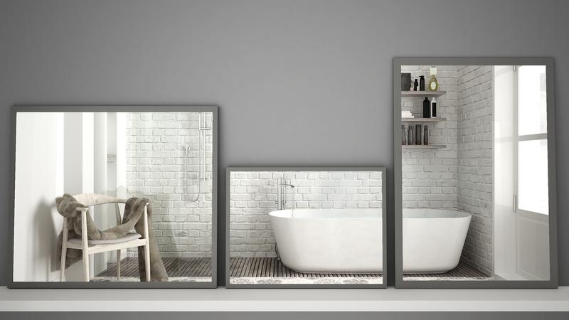 scandinavische badkamer accessoires